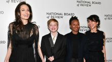 Angelina Jolie Brings Daughters Shiloh and Zahara as Her Dates to N.Y.C. Awards Gala