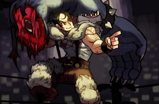 Skullgirls' fourth new character is Beowolf