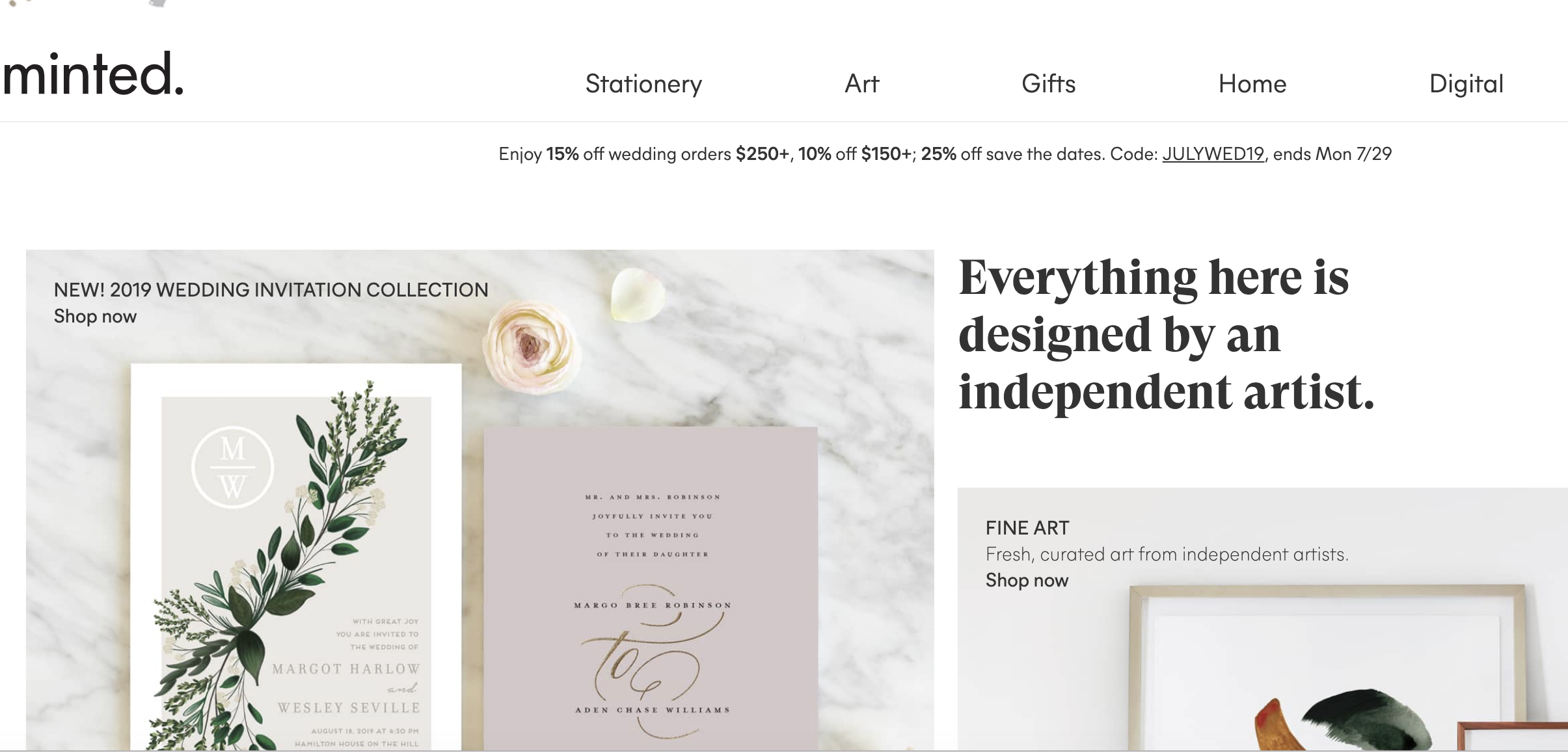 Minted is expanding but has no plans for an IPO