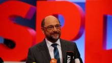 German SPD leaders upbeat as biggest branch backs coalition talks