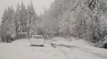 """Storm brings expected """"most snow on Earth"""" and treacherous conditions"""