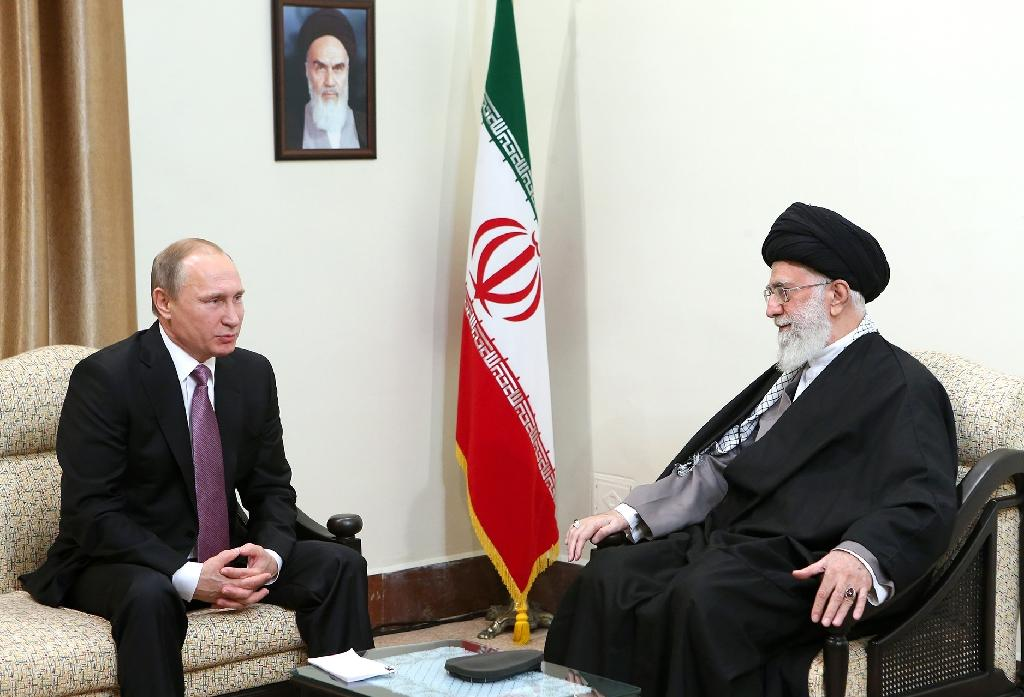 Iran's supreme leader Ayatollah Ali Khamenei has indicated Tehran wants to prioritise relations with eastern nations, while the country has allied with Russia over the Syria conflict