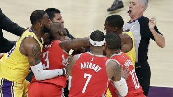 Report: NBA looking at video Rondo-CP3 fight