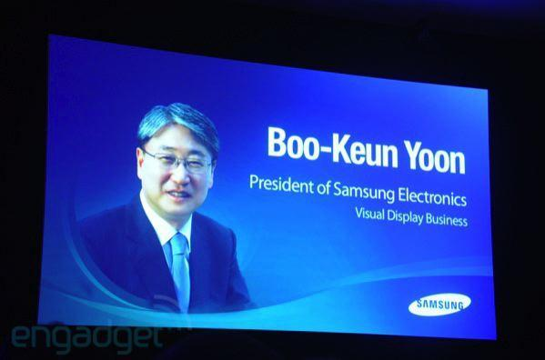 Live from Samsung IFA 2010 press event