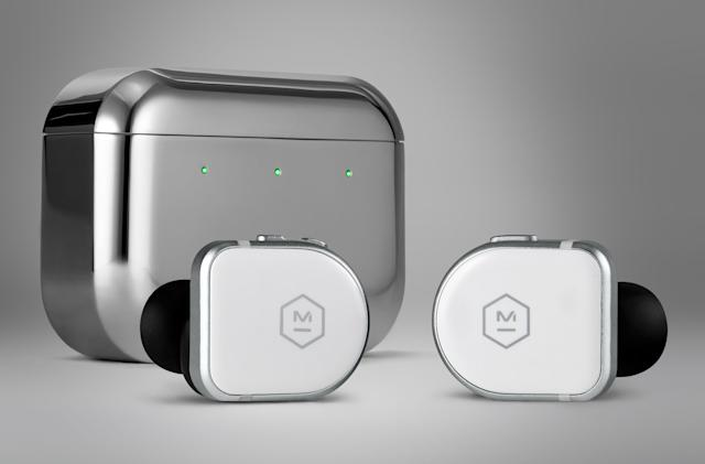 Master & Dynamic's MW08 earbuds combine premium materials and hybrid ANC