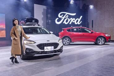 Ford Focus Active售價83.9萬元起上市、林依晨再代言演繹任性迷路找自己!