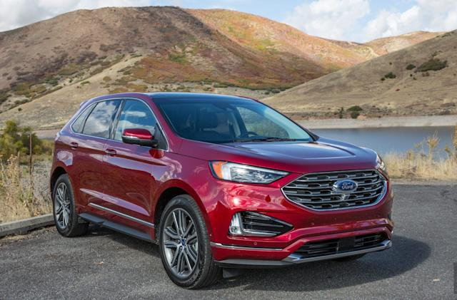 The Ford Edge 2019 gets better tech and minor facelift