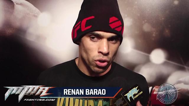 Renan Barao at peace with interim title, considers himself real champion anyway