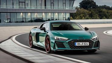 以R8紐柏林五度稱霸為概念而打造,AUDI推出R8 Green Hell Edition綠色地獄限量特仕車