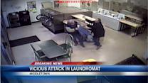 Man says he was beaten with stick at Middletown Laundromat