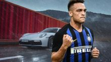Le auto del calciatore Lautaro Martinez e l'incidente in Porsche