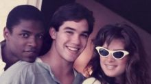 #TBT: Brooke Shields Cozies Up to College Sweetheart Dean Cain ... and a Third Wheel