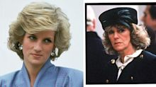 How Princess Diana And Camilla's Infamous First Lunch In 'The Crown' Really Went Down