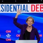 At U.S. Democratic debate, Warren's rise sparks fears about her agenda