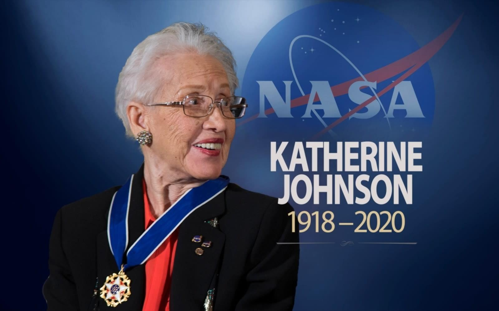 """Photo of NASA mathematician Katherine Johnson dies at the age of 101. Model of movie """"Dream"""""""