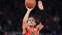 Trae Young sprains ankle again in loss to Bucks, to miss at least one game