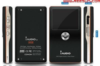 Cowon's 30GB iAudio X5 gets right with God