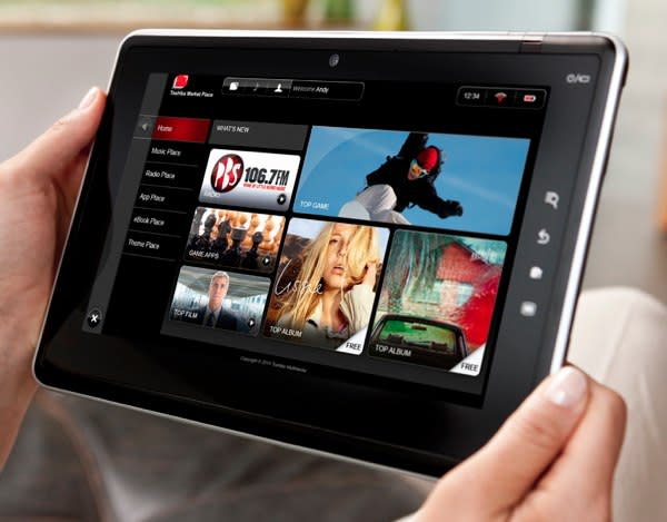 Toshiba Places to deliver web content across all Toshiba screens