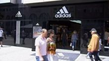 Adidas shares jump as North America growth outpaces Nike
