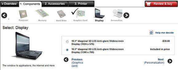 HP Mini 110 netbook gets 1366 x 768 display option