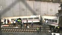 Raw: Train Derails in Spain, Dozens Feared Dead