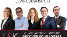 CLASS ACTION UPDATE for EBS, VRUS and OCGN: Levi & Korsinsky, LLP Reminds Investors of Class Actions on Behalf of Shareholders