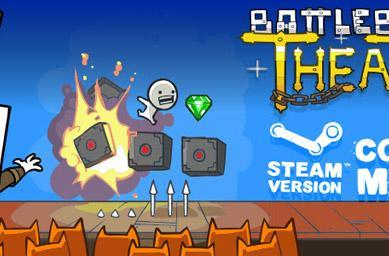 Battleblock Theater bundled with Castle Crashers for Steam launch