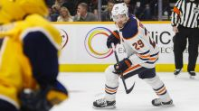 Leon Draisaitl continues Hart Trophy case with four goal night
