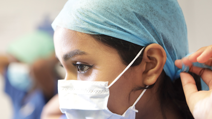 Coronavirus: Burberry and Dior among fashion brands making protective masks and gowns