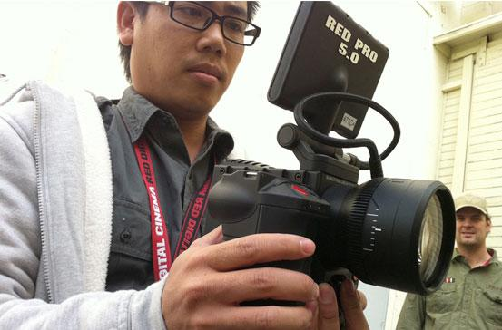 RED Scarlet fixed lens camera shown in public (video)