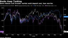 Banks Keep Sliding as Results Won't Change 'Negative Narrative'