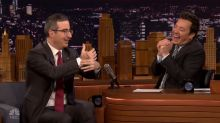 John Oliver relives awkward moment with Oprah at the Emmys