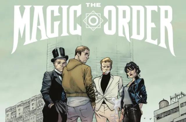 Netflix's first comic book is Mark Millar's 'The Magic Order'