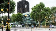 Temporary school built for pupils at academy near Grenfell Tower