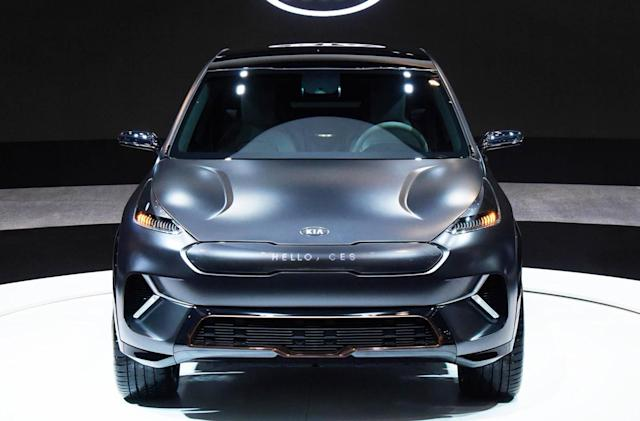 Kia unveils its electric and autonomous future