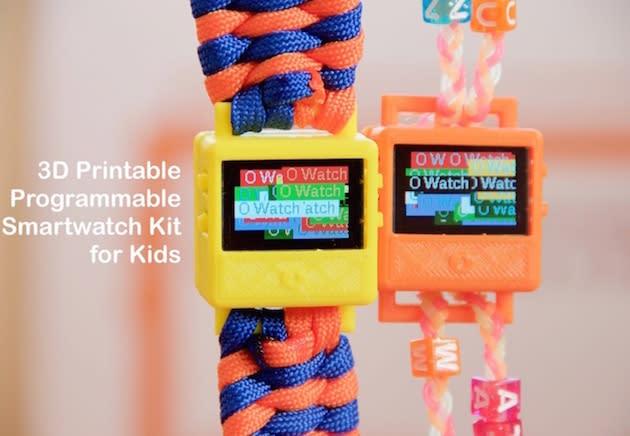O Watch: Wirklich smarte Smartwatch von einem 8-Jährigen auf Kickstarter