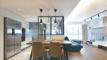 【設計變法】工業風黑框玻璃 將飯廳變形格餐區