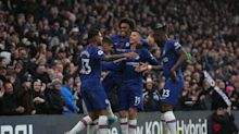 Premier League round-up: Six in a row for Chelsea, Leicester ease past Arsenal, Spurs held by Blades