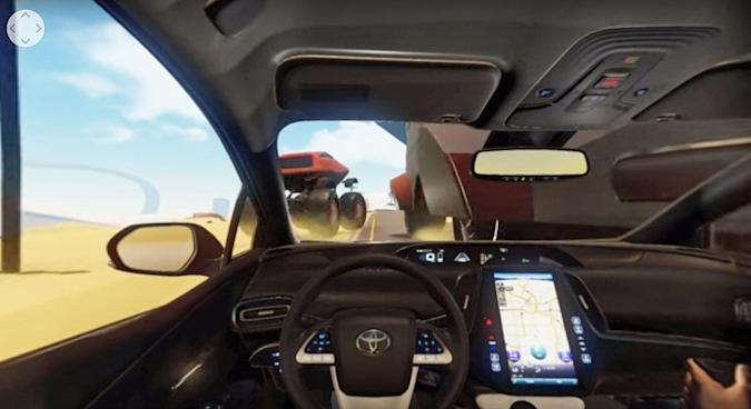Take the newest Prius for a virtual spin