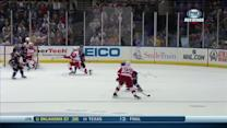 Pavel Datsyuk deflects one in on power play