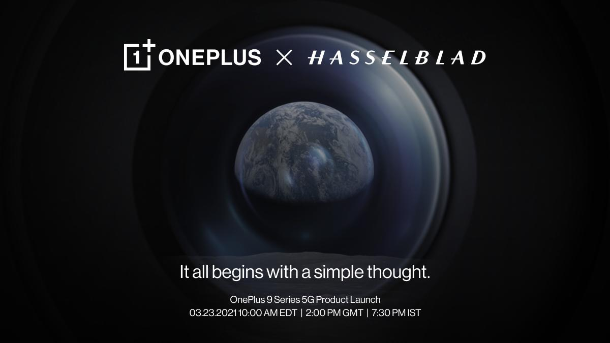 The OnePlus 9 series will debut with Hasselblad-tuned cameras on March 23rd