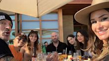 John Travolta and His Daughter Ella Enjoy a 'Lovely Lunch' with Tommy Lee's Family