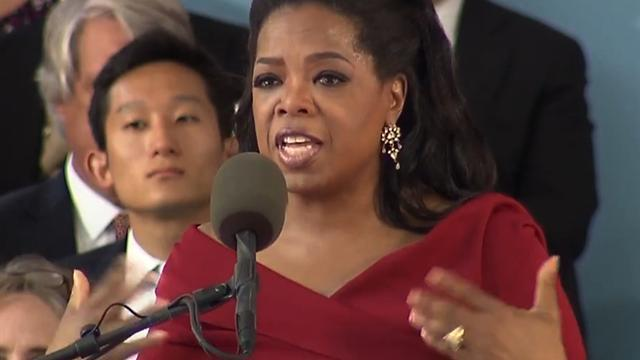 Oprah's advice to grads on dealing with failure