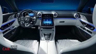 簡直跟開飛機一樣! Mercedes-AMG SL裝了一個超級大的螢幕