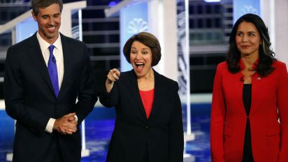 Dems clash in opening debate, highlighting rifts