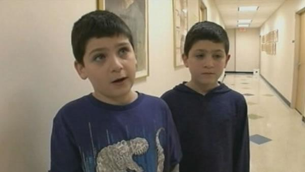 Twin boys describe how Conn. teacher saved them