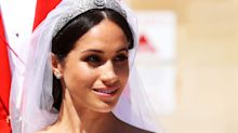 Meghan's royal wedding hair and beauty was refreshingly natural and let her freckles shine through