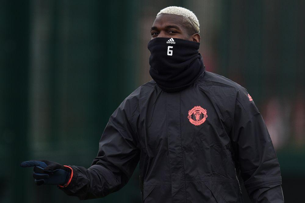 Manchester United, Pogba reprend l'entrainement