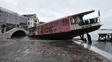 Acqua Alta à Venise : les images les plus impressionnantes de la marée historique