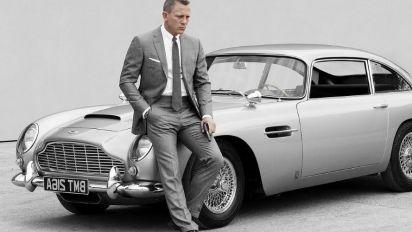 Aston Martin re-makes Bond's DB5